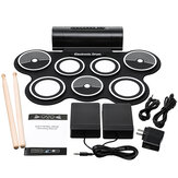 Electronic Drum Digital USB Pads Roll up Drum Set Silicone Electric Drum Pad Kit