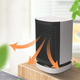 Electric Heater 950W Portable Space Heater 3 Speeds Dual Mode 90° Wide Angle for Home Office