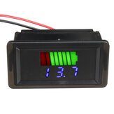 12V-60V Waterproof LED Digital Voltmeter Voltage Meter Battery Gauge For Car Marine Motorcycle