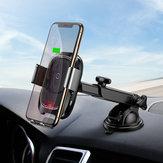 Baseusインテリジェント赤外線センサーオートロック10WQiiPhone用ワイヤレスカーチャージャーホルダーXS注9