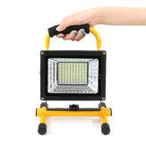 500W 130 LED Przenośna zewnętrzna lampa kempingowa Flood Light Spot Lampa robocza Akumulator
