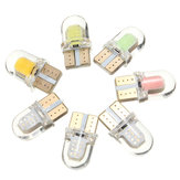T10 194 168 W5W COB 8SMD SILICA Auto LED Deurverlichting Gloeilamp