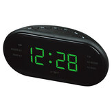 VST ST-3  Led AM FM Radio Digital Brand Alarm Clock Backlight Snooze Electronic Designer Home Table Clock Radio Despertador Digital Led
