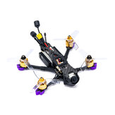 Everyine LAL3 HD DJI 145mm 3 Inch 3-4S FPV Racing Drone PNP DJI FPV Air Unit F4 FC 1408 3750KV محرك 25A زر ESC فى الكيبورد