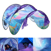 90.55X31.5inch Outdoor Nylon Adventure Pop Up Bed Folding Kids Dream Tent Children Playhouse