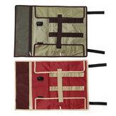 الأحمر المحمولة التخييم في الهواء الطلق مسمار العمل أداة حقيبة تخزين الجيب حقيبة يد أكياس أداة