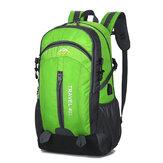 40L Men Waterproof Anti-Theft USB School Backpack Travel Mochila para caminhadas ao ar livre