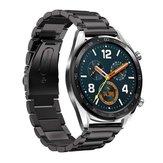 Bakeey 22 مللي متر ثلاثة خرز صلب غير القابل للصدأ ساعة فولاذية حزام لـ Huawei GT ذكي ساعة