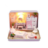 Hoomeda DIY Doll House Romantisch theater Kid Girl Gift S932