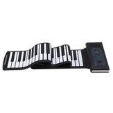 Bora BR-A8888標準キー折りたたみ式ポータブル電子キーボードハンドロールピアノ