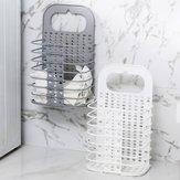Бытовая Складная Корзина Ванная комната Одежда Одежда Пластиковые Корзины Для Хранения Настенные Корзины Для Белья Оптовая
