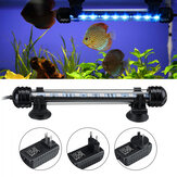 18cm 5050SMD 9LED Tanque de peixes de aquário RGB Light Submersible Waterproof Bar Strip Lamp