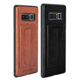 Card Slot PU Leather Kickstand Magnetisch Geval voor Samsung Galaxy Note 8