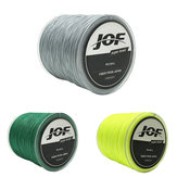 JOF 500M PE Braided 4 Strands 15-100 LB  High Sensibility Super Strong Fishing Line Sea Fishing