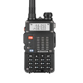 BAOFENG BF-F8 8W UV Dual Band Tweerichtingsradio Handheld Walkie Talkie 128 kanalen 400-520 MHz Zaklamp Buiten Wandelen Civiele intercom