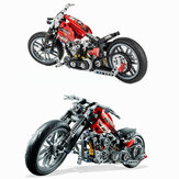 Decool 3354 Exploiture Speed Racing Motorcycle Con Scatola Building Blocks Toys Modello 374pcs Mattoni