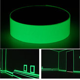 50mm x 1m Photoluminescent Tape Glow In The Dark Egress Safety Mark Bright Green