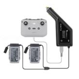 YX 3-IN-1 Car شاحن Fast Multi Intelligent البطارية التحكم عن بعد مراقبة Outdoor شحن Hub لـ DJI Mavic Air 2