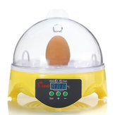 Automatic Egg Hatcher Clear Digital Chicken Duck Bird 7 Egg Incubator Hatcher Househould
