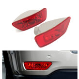2Pcs Car Rear Tail Lamps Fog Lights Cover For Jeep Compass Grand Cherokee 2011-2016