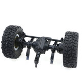 JJRC Asse ponte anteriore per Q60 Q61 1/16 2.4G Off-Road Military Trunk Crawler RC Car
