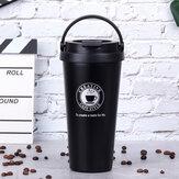 Bakeey 500 мл Авто Изоляционная чашка Вакуумная чашка из нержавеющей стали 304 портативная кофейная чашка