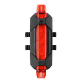 Original              USB Charging Bicycle Lamp Riding Rear Warning Light Night Taillight Equipped