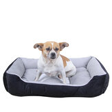 Waterproof Warm Winter Pet Bed With Bone Decoration For Large Dog Puppy Kennel Pet Supplies