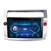 9-calowy 2Din dla Androida 9.1 Radio samochodowe Odtwarzacz Mlitimedia Quad Core 1 + 16G WIFI GPS Navi FM Dla Citroen C4 C-Triomphe C-Quatre 2004-2009