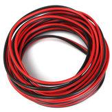 El cable del altavoz de 5 m alambra vehículos audio hi-fi estéreo de casa