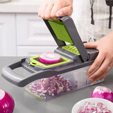 Multi-Function Vegetable Cutter with Steel Blade Mandoline Slicer Fruit Grater for Kitchen Kitchen Accessories