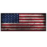 167X58 CM Naklejki samochodowe USA Flaga amerykańska Klapa bagażnika Wrap Winylowa graficzna naklejka odbioru