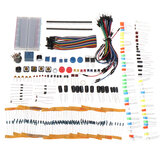 KW Electronic Components Base Kit with 17 Classes Breadboard Components Set Geekcreit for Arduino-公式Arduinoボードで動作する製品