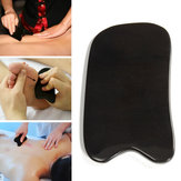Natural Black Buffalo Horn Scraping Gua Sha Board