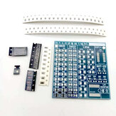 DIY SMD Component Soldering Board Practice Version Electrician and Electronic Soldering Practice Special Soldering Kit