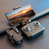 LANSENXI LS-XT6 Mini WiFi FPV com 4K / 1080P HD Câmera dupla Altitude Hold Mode Dobrável RC Drone Quadricóptero RTF