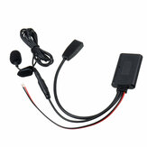 Adattatore USB wireless AUX per cavo audio per auto bluetooth Microfono per BMW E46