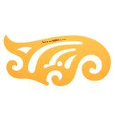 30cm Französisch Kurve Zeichnungsvorlage KT Soft Kunststoff Design Ausarbeitung Schablone Herrscher
