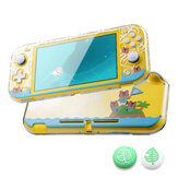 DATA FROG Transparente Hard Protective Caso para Nintendo Switch Lite Console Animal Protection Cover para NS Switch Lite