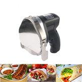 Cortadoreléctricodeldonerde220V Cuchillo eléctrico del cuchillo de la carne del kebab de Shawarma con la cuchilla y la piedra de afilar