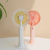 3life 329 Antler Design Portable Mini Fan USB Charging with 1500mAh Lithium Battery Brushless Motor