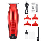 Kemei KM-5026 0mm Bald Rechargeable Hair Clipper Trimmer