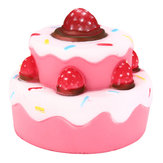 11cm * 11cm Squishy Strawberry Cake pachnące Super Slow Rising Kids Toy Cute Gift Collection