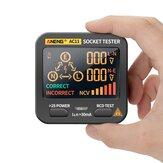 ANENG AC11 LED testeur de prise multifonction écran compteur de phase détecteur de polarité de phase 0,1 V ~ 250 V mesure de tension alternative identification du fil zéro / incendie