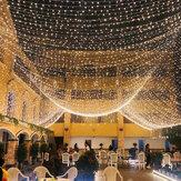10 м 2020 Рождественская елка фея LED Водонепроницаемы гирлянда световая цепочка для дома Сад Свадебное вечерние На открытом воздухе празднич