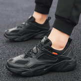 Season Large Size Men's Shoes New Sports Shoes Breathable Casual Mesh Panel Shoes Tide Shoes Net Red Running Shoes
