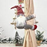 Noel Perde Tieback Kravat Perde Dekorasyonu için Geri Top Toka Klip Engelleme