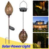 Extérieur LED Solaire Sol Pieu Lumière Jardin Pelouse Suspension Lampe Voie Éclairage De Jardin Imperméable