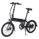 [CZ Direct] LAOTIE X FIIDO D4s Pro 11.6Ah 36V 250W 20in összecsukható moped kerékpár 25km / h maximális sebesség 90KM futásteljesítményű elektromos kerékpár
