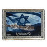 Folding Decorative Blanket Knit Tapestry Prayer Carpet Middle East Sofa Towel for Home Textiles